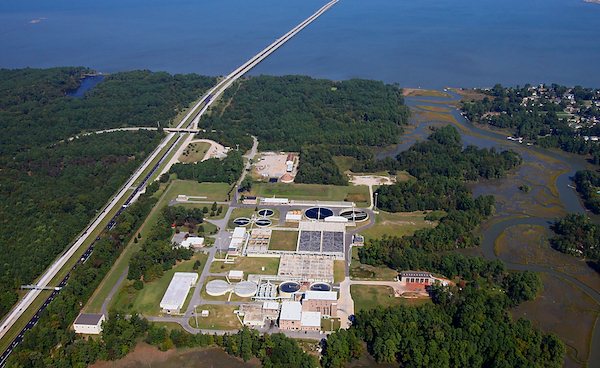 HRSD's Nansemond Treatment Plant in Suffolk, Virginia