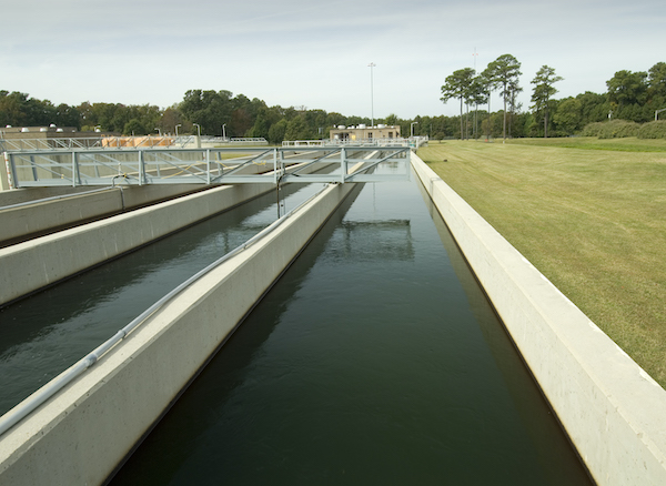 Chlorine disinfection at HRSD's Nansemond Treatment Plant in Suffolk, Virginia